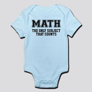 Math the only subject that counts Body Suit