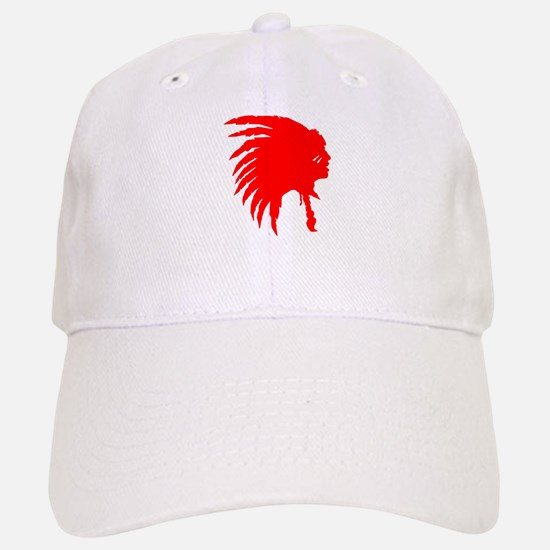Native American War Chief Baseball Baseball Cap