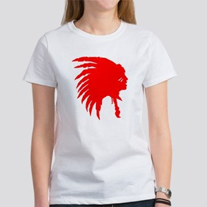 Native American War Chief Women's T-Shirt