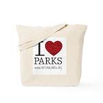 I Heart Parks Tote Bag