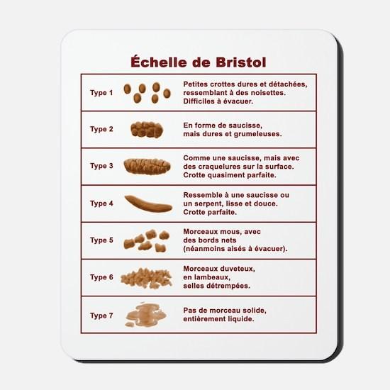 Échelle de Bristol Mousepad
