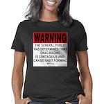 Warning: Drag Racing Women's Classic T-Shirt