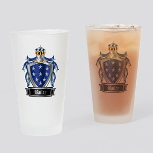 BAILEY COAT OF ARMS Drinking Glass