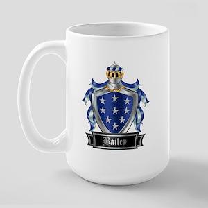 BAILEY COAT OF ARMS Large Mug