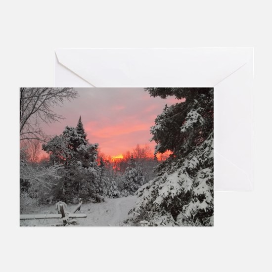 Winter Glow /Greeting Cards (Pk of 10)