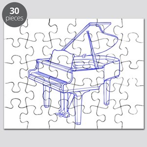 Baby Grand Piano Puzzle