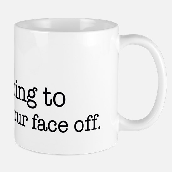 Hex Your Face Off Mug