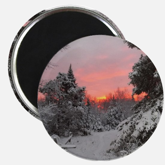 """Winter Glow / 2.25"""" Magnet (100 pack)"""