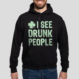 I See Drunk People Hoodie (dark)
