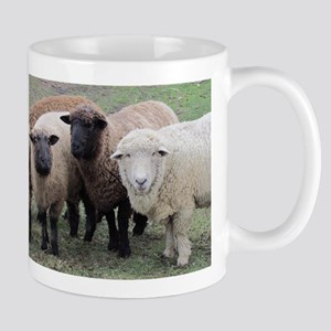 3 faces of sheep Mug