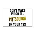 Pittsburgh Baseball Car Magnet 20 x 12