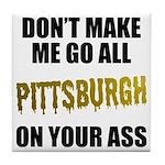 Pittsburgh Baseball Tile Coaster