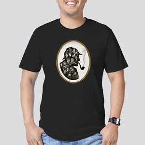 Many Faces Men's Fitted T-Shirt (dark)