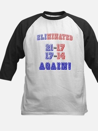 Eliminated Again! Kids Baseball Jersey