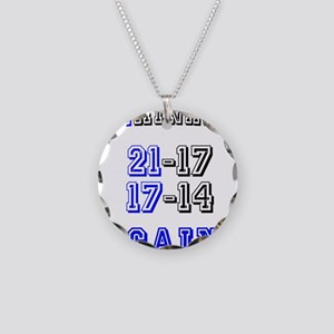 Eliminated Again! Necklace Circle Charm