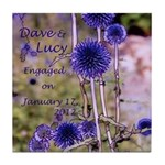 Dave & Lucy Tile Coaster