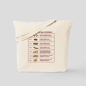 Scala delle feci di Bristol Tote Bag