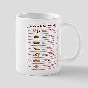 Scala delle feci di Bristol Mug