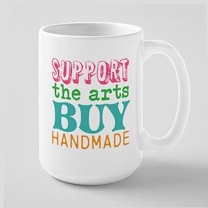 Support Handmade Large Mug