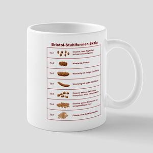 Bristol-Stuhlformen-Skala Mug