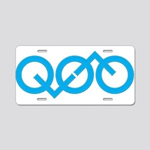 opti Aluminum License Plate