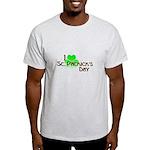 I Love St. Patrick's Day Light T-Shirt