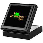 I Love St. Patrick's Day Keepsake Box