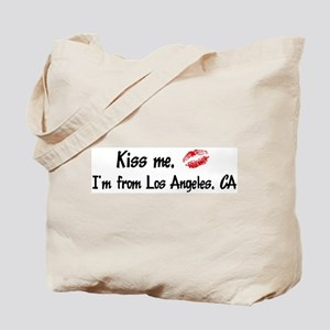Kiss Me: Los Angeles Tote Bag