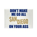 San Diego Baseball Rectangle Magnet