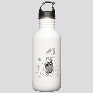 Idiot's Guide Stainless Water Bottle 1.0L