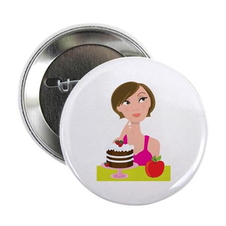 "Girl Deciding 2.25"" Button (100 pack)"