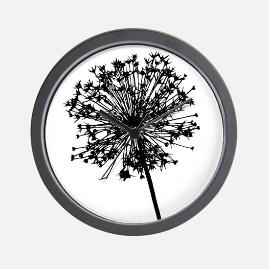 Unique Dandelion wishes Wall Clock