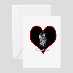 Valentine Angel Greeting Card