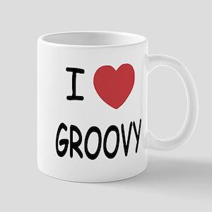 I heart groovy Mug