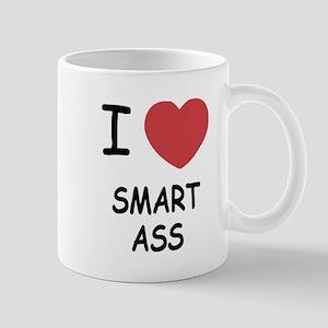 I heart smartass Mug