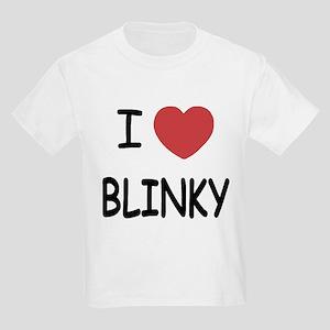 I heart blinky Kids Light T-Shirt