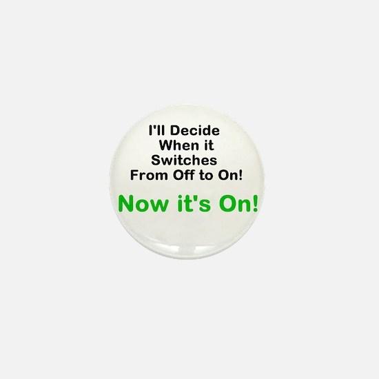 Unique Psych Mini Button