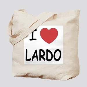 I heart lardo Tote Bag