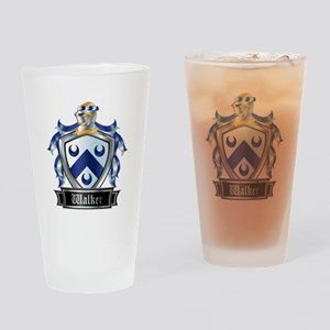 WALKER COAT OF ARMS Drinking Glass
