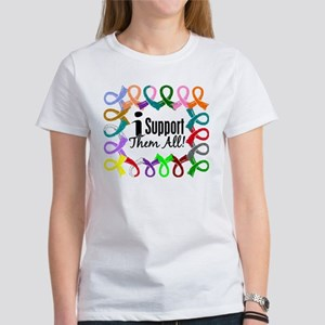 I Support Them All Women's T-Shirt