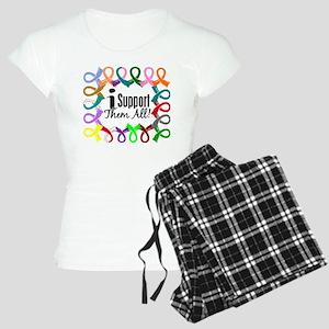 I Support Them All Women's Light Pajamas