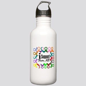I Support Them All Stainless Water Bottle 1.0L