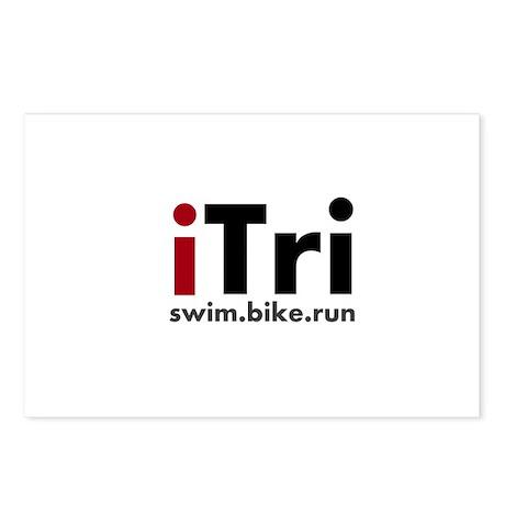 iTri Triathlon Merchandise Postcards (Package of 8