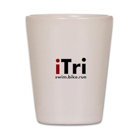 iTri Triathlon Merchandise Shot Glass