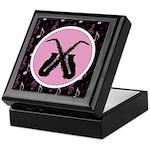 Saxophone Music Keepsake Box