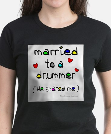 Married_to_a_drummer T-Shirt