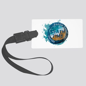 Florida - Ponce Inlet Large Luggage Tag
