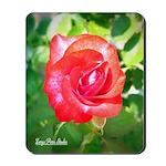 Fiery Rose Mousepad