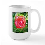 Fiery Rose Large Mug