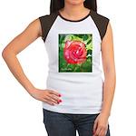 Fiery Rose Women's Cap Sleeve T-Shirt